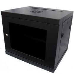 9U 450mm Deep Data Cabinet, Wall Mounted, 19-inch (W600 x D450mm)