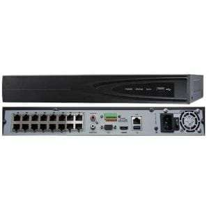 DS-7616NI-E2/16P HIKVISION 16CH 16 Channels PoE NVR Network Video Recorder