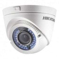 HIKVISION DS-2CE56D0T-VFIR3F HD OUTDOOR VARI-FOCAL DOME/2.8-12MM LENS
