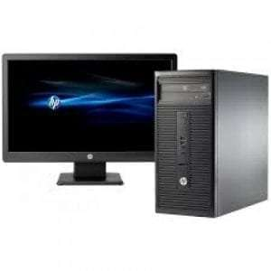 HP 280 G2 Microtower - Intel Core i7, 4GB RAM, 500GB HDD, 18.5'' TFT