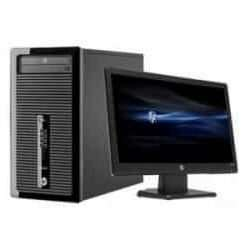 HP ProDesk 400 G1 - micro tower - Core i7 4770 3.4 GHz - 8 GB - 1 TB, 18.5 Inch Screen