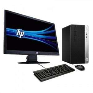 "Hp Pro 400 (3.2GHz) INTEL CORE i5 4GB RAM 500GB HDD DVD RW, 18.5"" Screen DOS Computer Desktop"
