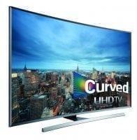 """Samsung Curved Digital 55"""" JU7500 7 Series Curved UHD 4K Smart 3D LED TV"""