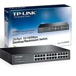 Tplink 24-port 10/100Mbps Desktop/Rackmount Switch TL-SF1024D