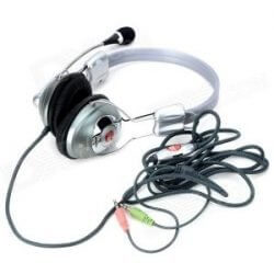 WeiLe WL-360MV Wired Stereo Headset Headphone with Mic