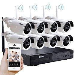 Wireless IP Surveillance CCTV Kit( Wireless NVR, 8 Wireless Cameras, HDD)