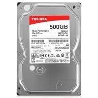 500GB Toshiba Desktop Harddisk