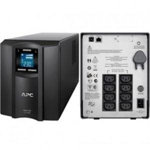 APC Smart-UPS C 1000VA 1KVA LCD 230V SMC1000I
