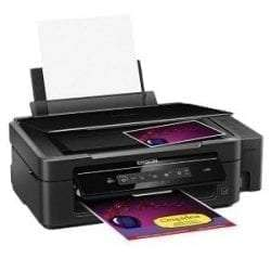Epson L805 Colour Inkjet Printer,Wifi Connectivity, Black