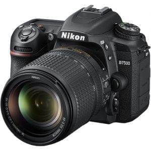 Nikon D7500 DSLR Camera with 18-140mm Lens - 20.9MP