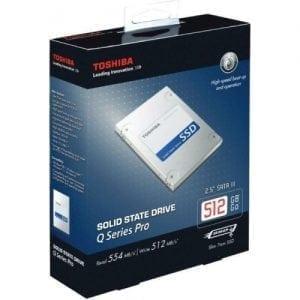Toshiba 512GB Q Series Pro PC Internal Solid State Drive SSD