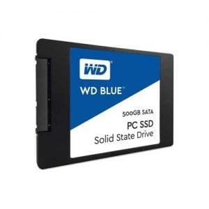 WD Blue PC SSD WDS500G1B0A - solid state drive - 500 GB - SATA 6Gb/s
