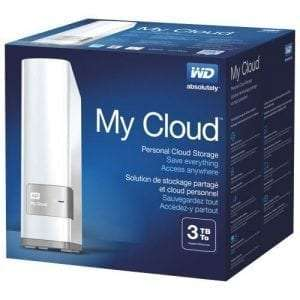 Western Digital WD 3TB My Cloud Personal Cloud NAS Storage