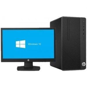 "HP 290 G1 - 18.5"" - Intel Duo Core - 500GB HDD - 4GB RAM - Free DOS - Black"