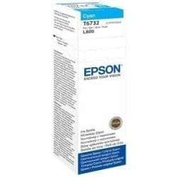 Epson C13T67324A Ink Cartridges T6732 6 colour ink bottles Singlepack 1 x 70ml Cyan