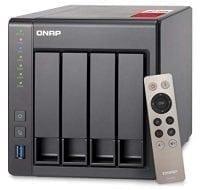 QNAP TS-451+ 4-Bay Next Gen Personal Cloud NAS, Intel 2.0GHz Quad-Core CPU