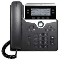 Cisco 7821 IP Phone (CP-7821-K9=) 2-Lines 2-Ethernets Port PoE