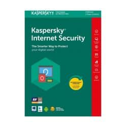 Kaspersky 2019 Internet Security 1 User+1 Free Devices