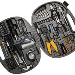 STek 145 pcs Pieces Computer Repair Tool Kit