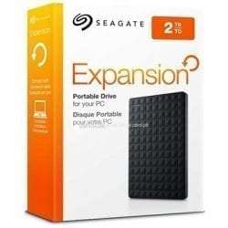 Seagate 2TB Expansion Slim Portable Hard Drive