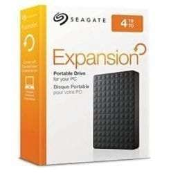 Seagate Expansion 4TB Portable External Hard Drive USB 3.0