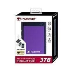 Transcend Hard Disk-3TB External StoreJet