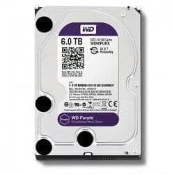WD Purple 6tb Hard Drive Surveillance SATA 6 GBS 64mb Western Digital