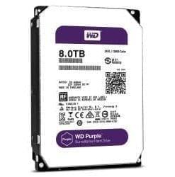 """WD Western Digital 8TB Purple 5400 rpm SATA III 3.5"""" Internal Surveillance Hard Drive"""