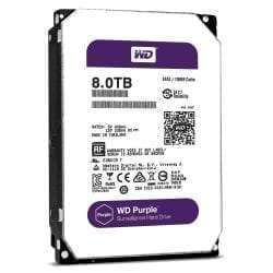 "WD Western Digital 8TB Purple 5400 rpm SATA III 3.5"" Internal Surveillance Hard Drive"