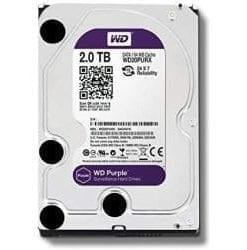 Western Digital WD Purple 2TB Surveillance Hard Disk Drive - 5400 RPM