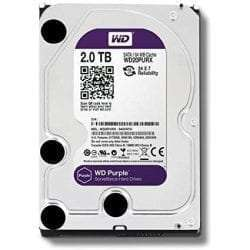 Western Digital WD Purple 2TB Surveillance Hard Disk Drive - 5400 RPM