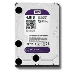 Western Digital WD Purple 4TB Surveillance Hard Disk Drive - 5400 RPM