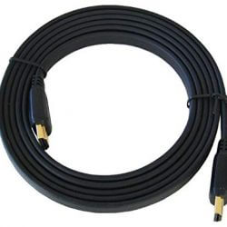3m Flat HDMI Cable - Premium Quality / 1080p