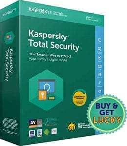 Kaspersky Total Security Latest Version- 3 + 1 Users