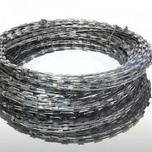 razor wire galvanised