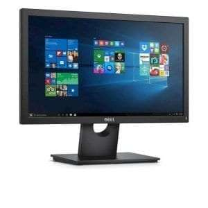 """Dell 20 Monitor E2016H - 49.4cm(19.5"""") Black"""