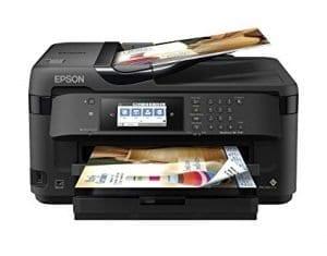 Epson Workforce WF-7710 Wireless Wide-Format Color Inkjet Printer