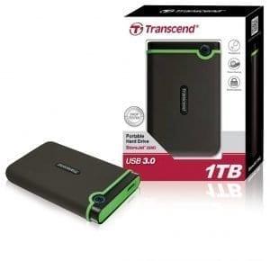Transcend 2TB External Storejet 25M3 3.0