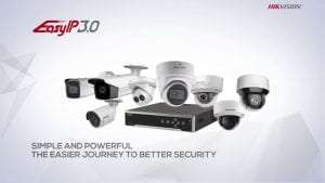 Hikvision Easy IP 3.0 Series Cameras
