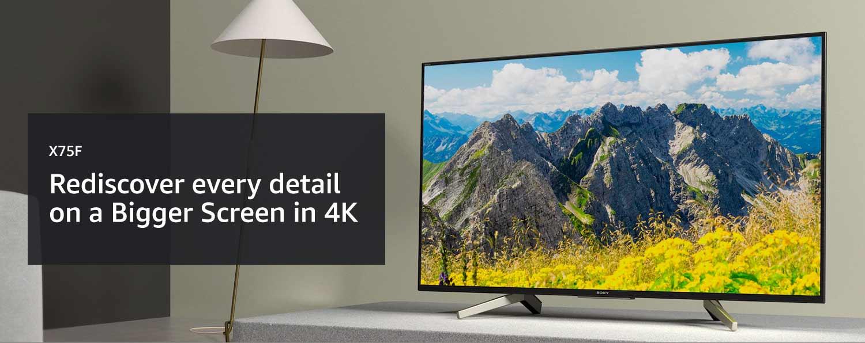 X75F LED 4K Ultra HD High Dynamic Range (HDR) | Smart TV (Android TV)